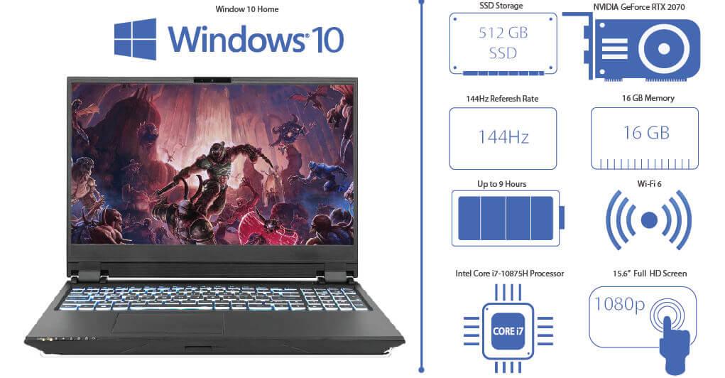 Sager Gaming Laptop