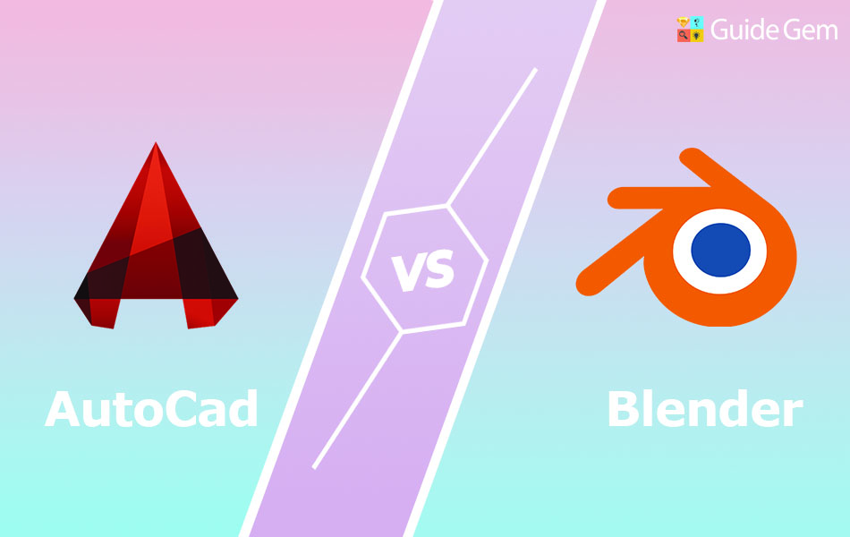 Autocad vs Blender