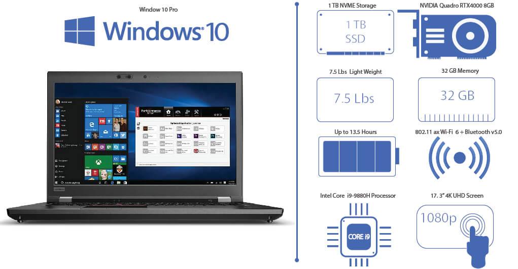 New ThinkPad P73 Mobile Workstation